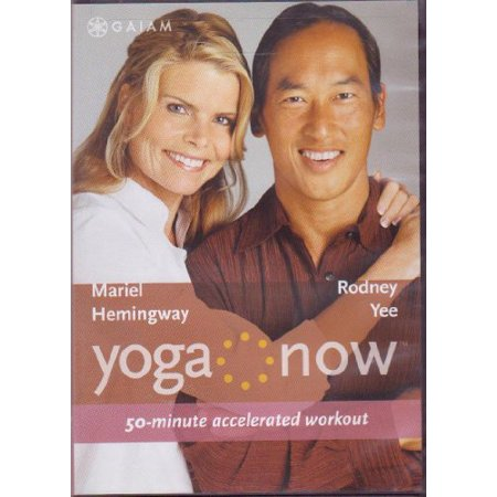 Yoga Now Mariel Hemingway and Rodney Yee 50 Minute Accelerated workout (Set Alarm For 50 Minutes From Now)