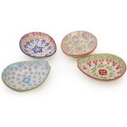 Assorted Oval Bowls - Set of 4