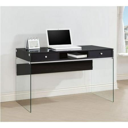 Coaster Contemporary Writing Desk Multiple Finishes Walmartcom - Contemporary writing desk furniture