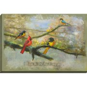 Carpentree Home Style Charm 'May the Lord Bless You' Painting Print on Wrapped Canvas