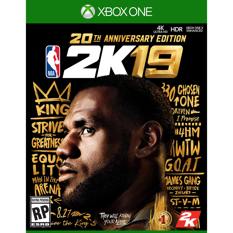 NBA 2K19: 20th Anniversary Edition - Xbox One