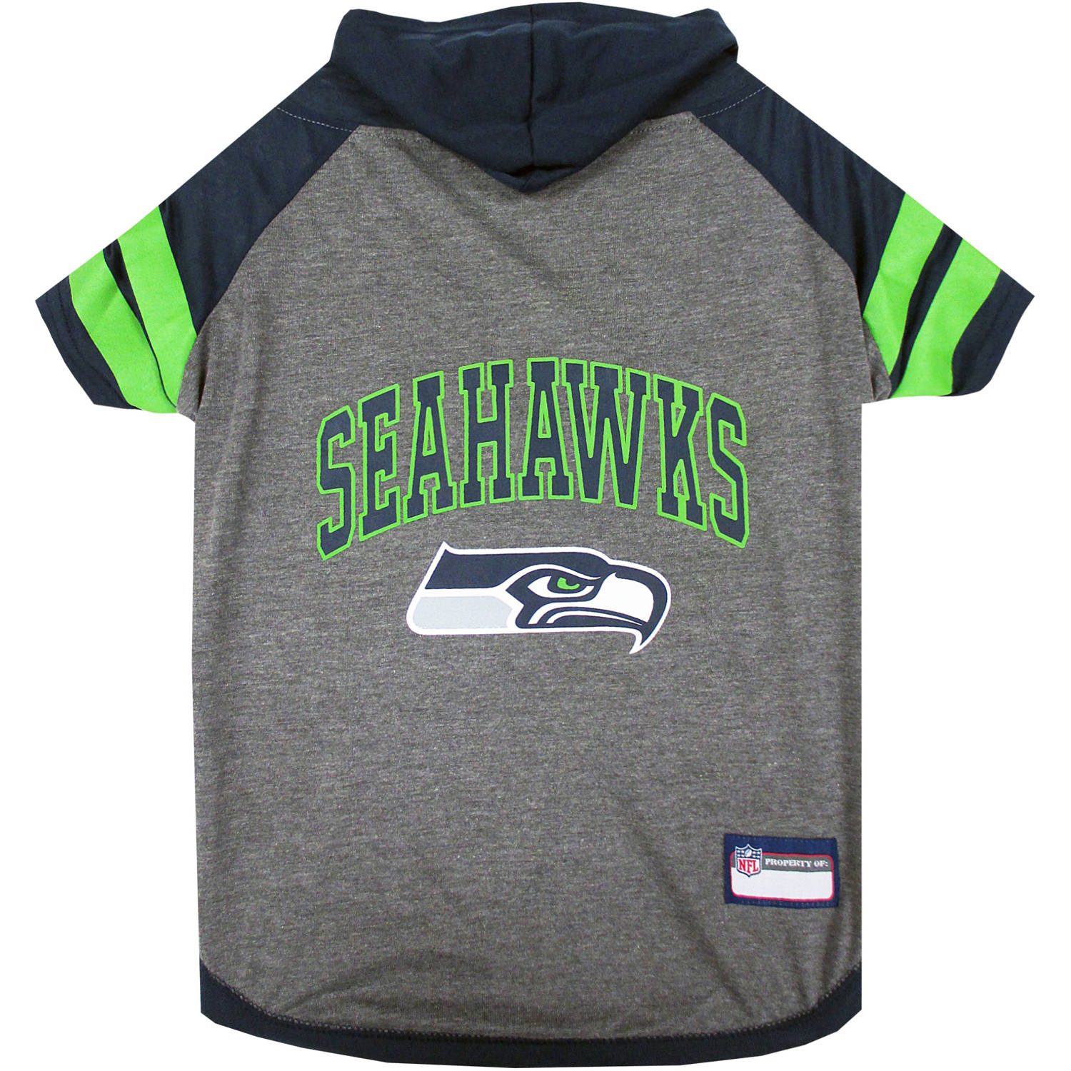 Pets First NFL Seattle Seahawks Pet Hoodie Tee Shirt