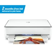 HP ENVY 6055 Wireless All-in-One Color Inkjet Printer - Instant Ink Ready
