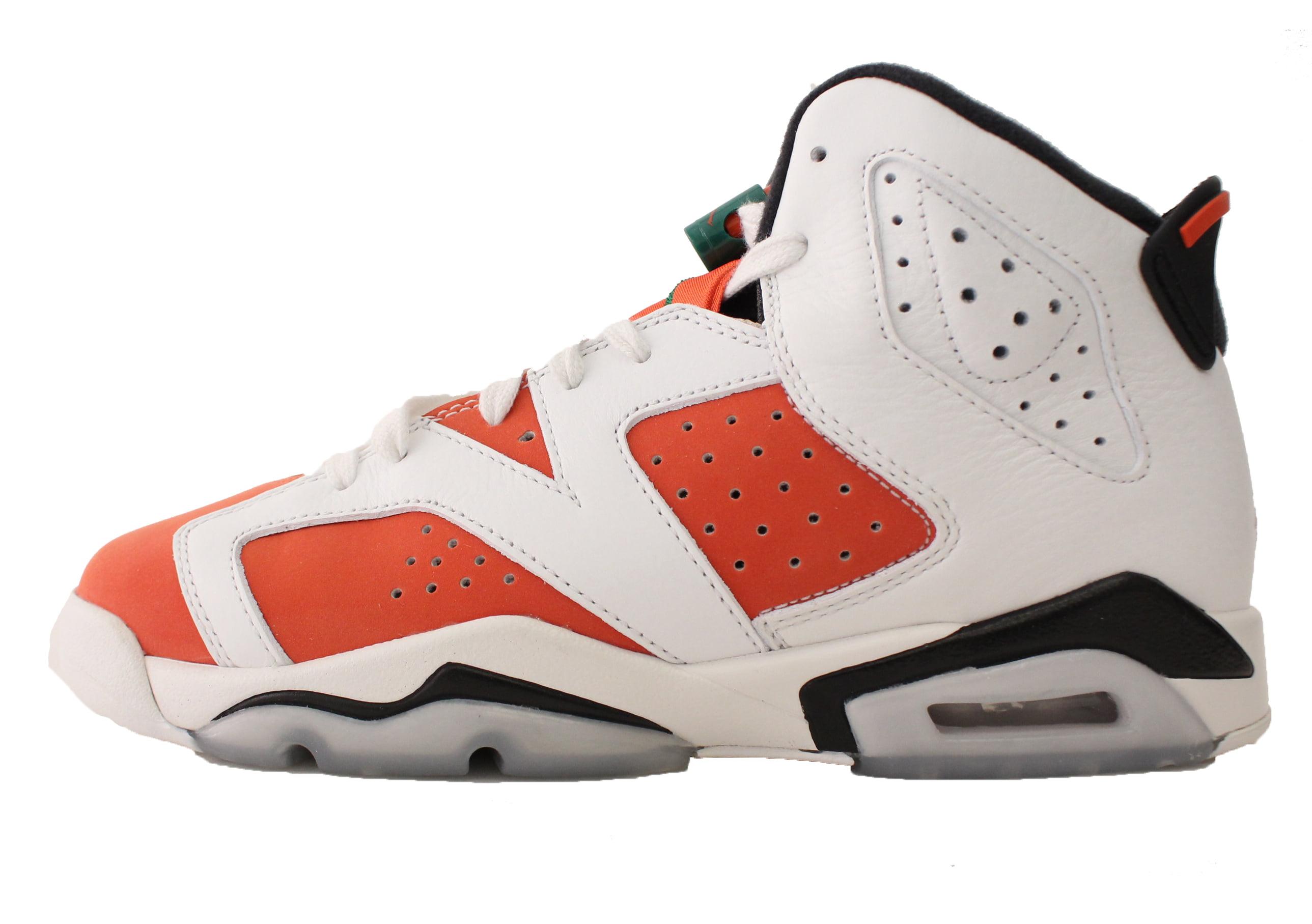 Kids Air Jordan Retro 6 VI GS Like Mike Gatorade Summit White Black Te -  Walmart.com