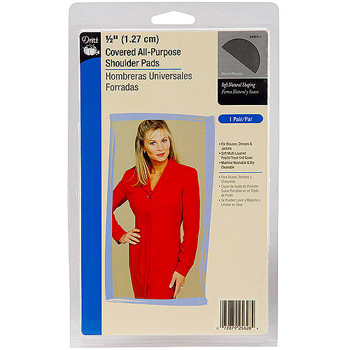 Dritz Covered All-Purpose Shoulder Pads