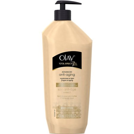 Olay Total Effects 7 In 1 Advanced Anti Aging Body Lotion With Vitaniacin Complex 13 5 Fl  Oz  Pump