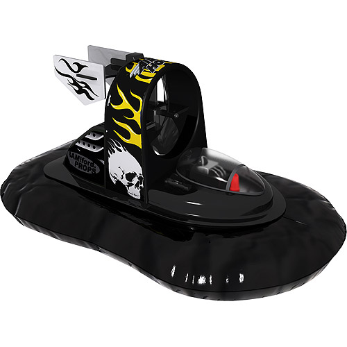 Air Hogs Radio-Controlled Micro Hovercraft, Black by