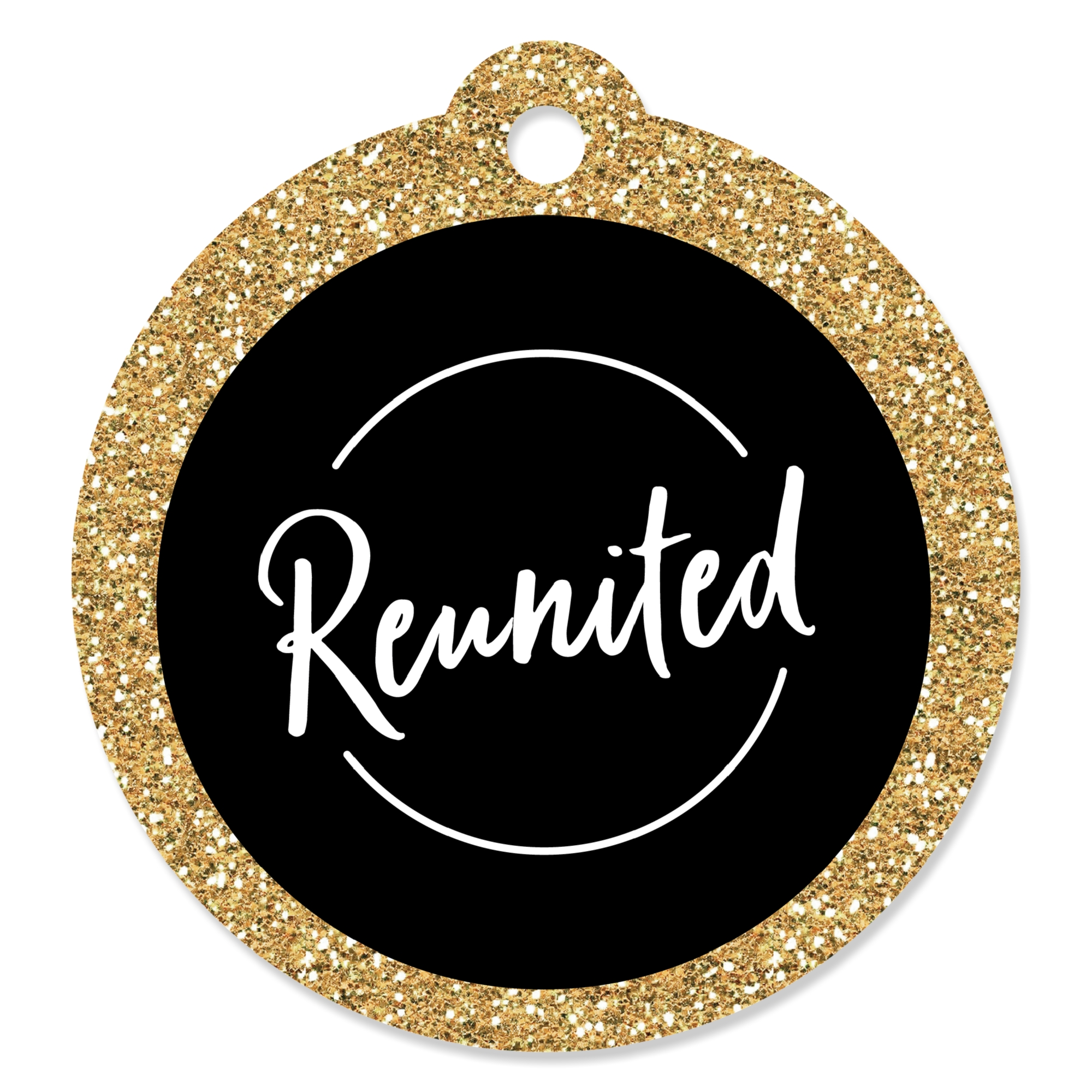 Reunited - School Class Reunion Party Favor Gift Tags (Set of 20)