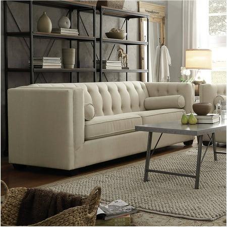 Coaster company cairns sofa crimson for Coaster co of america furniture