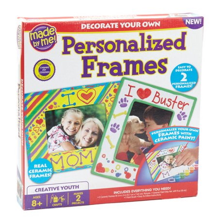 Kids Craft Made By Me Personalized Frame Kit Walmartcom