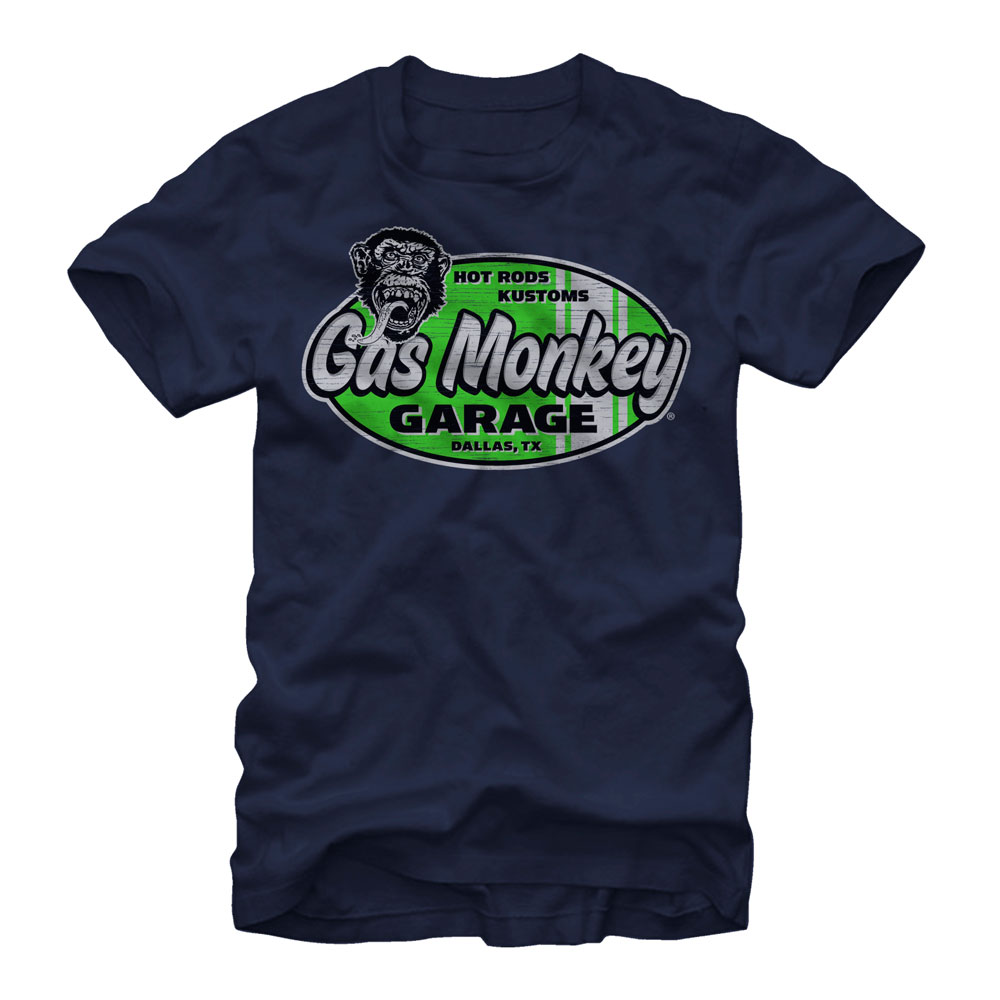 Gas Monkey Men's Hot Rods and Kustoms T-Shirt
