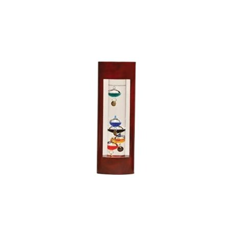 - Cherry Frame Galileo Thermometer 12in, Usually ships in 3 to 5 days By G W Schleidt