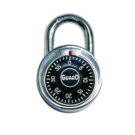 Guard Security 1500 Dial Combination Padlock,