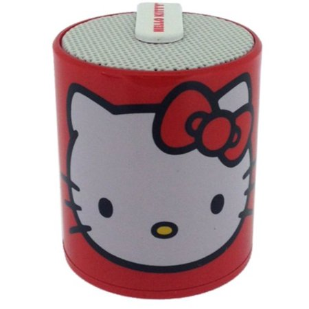hello kitty licensed rechargeable bluetooth speaker by zimri connects to most bluetooth enabled. Black Bedroom Furniture Sets. Home Design Ideas