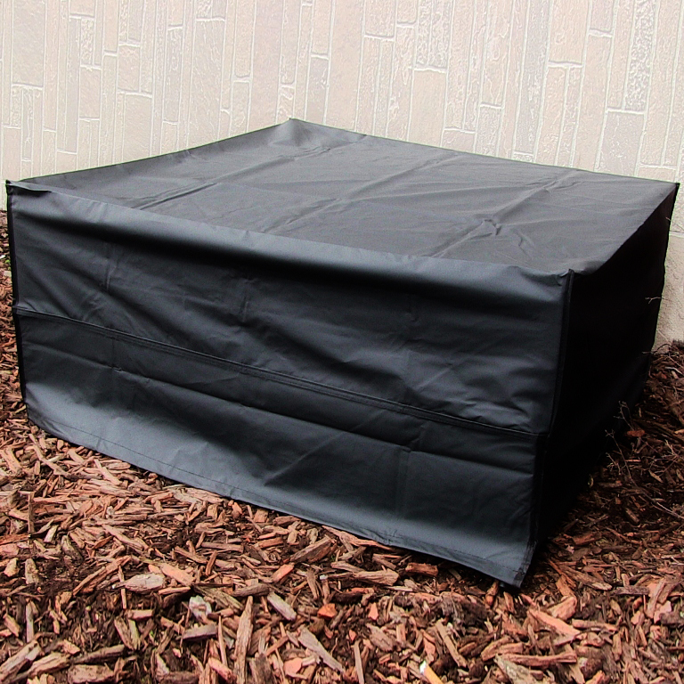 Sunnydaze Square Fire Pit Cover Outdoor Patio 36 Inch Square
