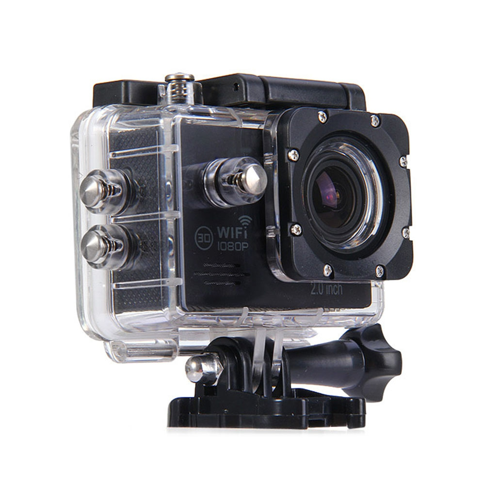 SJ7000 2.0 Inch Screen 1080P WiFi Novatek 96655 Chipset Sports Video Camera Camcorder with 170 Degree Wide Angle