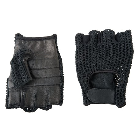 Condor Anti-Vibration Gloves, Leather Palm Material, Black, L, PR 1 - (Best Anti Vibration Material)