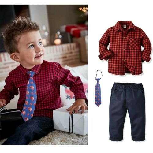 Baby Boys Gentleman Outfits Toddler Clothing Sets Infant Boys Clothes Tops+Pants