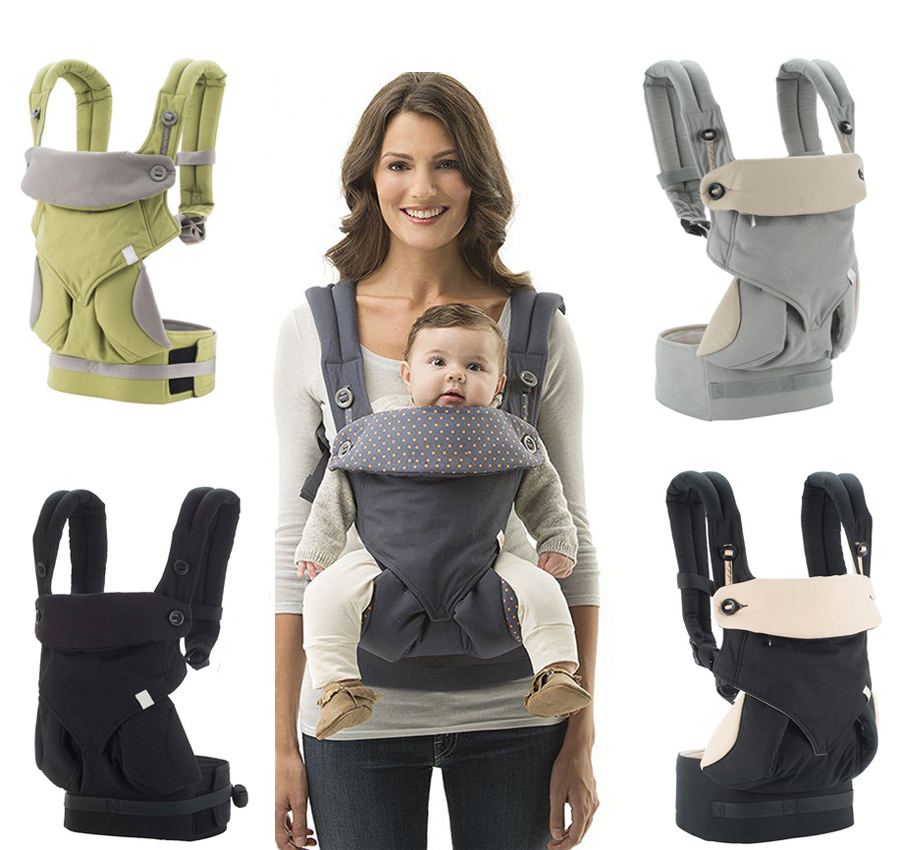 Antsir Infant Baby Carrier Ergonomic Safety Pouch Sling Wrap 4 Position Adjustable