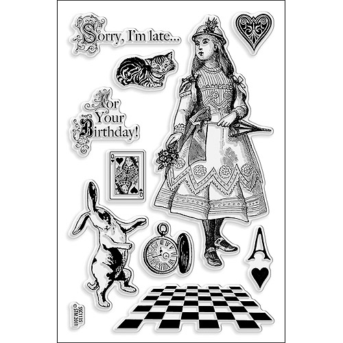 "Stampendous Perfectly Clear Stamps  4"" x 6"" Sheet"