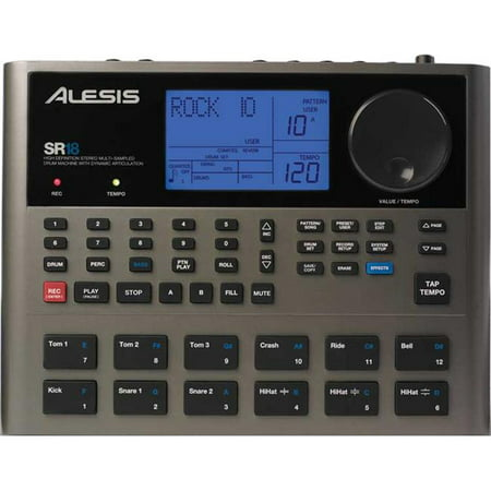 alesis sr18 professional drum machine with reverb eq and compression effects walmart canada. Black Bedroom Furniture Sets. Home Design Ideas