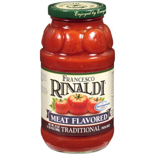 Francesco Rinaldi Meat Flavored Traditional Pasta Sauce, 24 oz