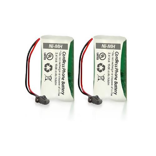 Battery for Uniden BT-1008 (2-Pack) Replacement Battery for Dect 6 0 2000 Series and DCX200
