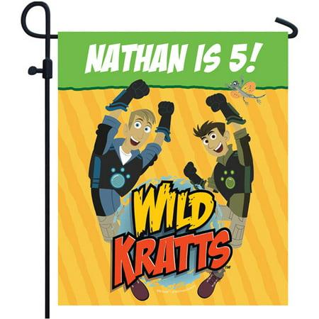 Personalized Wild Kratts Birthday Adventure Yard Sign
