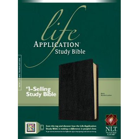 NLT Life Application Study Bible, Second Edition (Red Letter, Bonded Leather, Black)