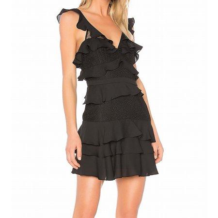 Women's A-Line Tiered Babylon Ruffled Lace Dress 6