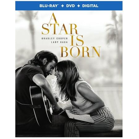 A Star Is Born (Blu-ray + DVD + VUDU Digital