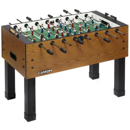 Carrom Burr Oak Foosball (Carrom Foosball Table)