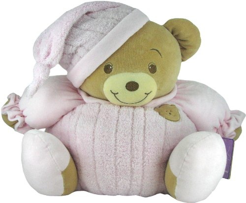 Baby Bow Huge Goodnight Stuffed Teddy Bear in Pink by Russ Berrie