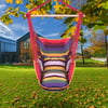 Zimtown Hanging Hammock Chair Porch Swing (Rainbow)