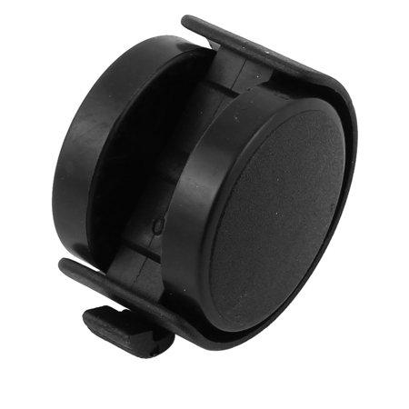 A16071200ux0327 5.1 cm de diamètre M8 Twin Roue Tige filetée connecteur de frein Chaise Roulettes – Argenté (2 pièces) - image 2 de 4