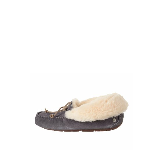 ab1ce6cac27 UGG - UGG Alena Women's Suede Moccasin Slippers 1004806 - Walmart.com