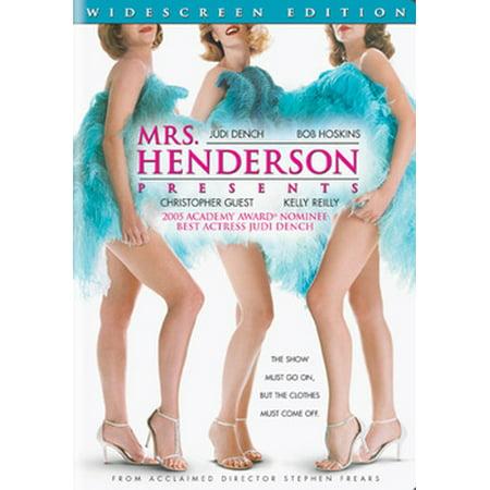 Mrs. Henderson Presents (DVD) - Logan Henderson Halloween