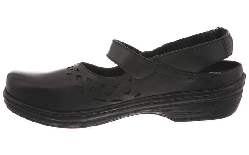 Klogs Forest Women's Mary Jane - Black Smooth
