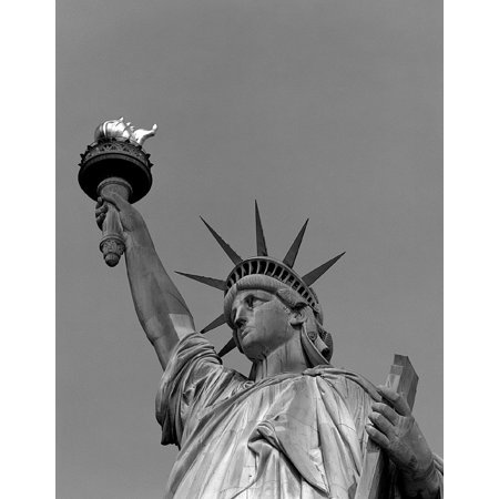 Framed Art For Your Wall Statue Of Liberty Close New York Landmark