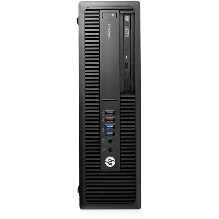 HP EliteDesk 705 G2 P0D50UT Small Form Factor Desktop PC with AMD A8 PRO-8650B Processor, 4GB Memory, 500GB Hard Drive and Windows 7 Professional (Monitor Not Included)