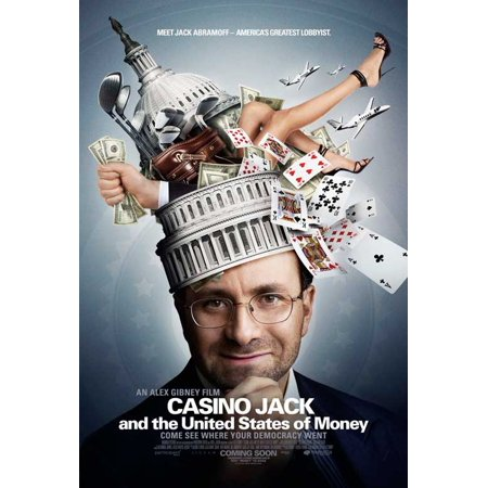 Casino Jack and the United States of Money (2010) 11x17 Movie Poster