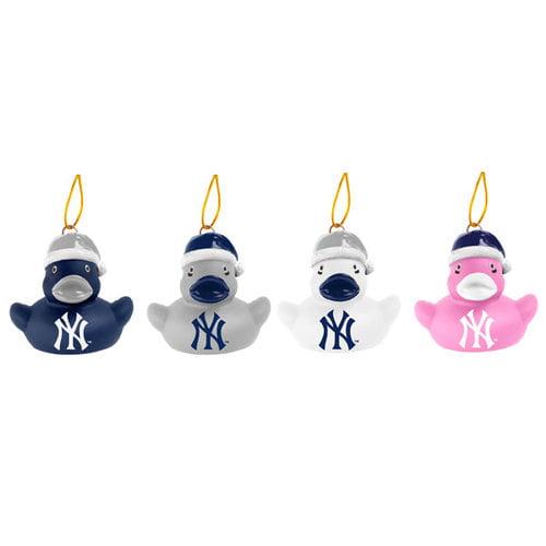 MLB - New York Yankees Vinyl Duck Ornament 4 pack