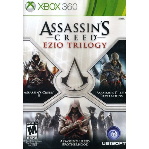 Ubisoft Assassin S Creed Ezio Trilogy Xbox 360 Walmart Com