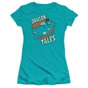 Dragon Tales Flying High Juniors Premium Bella Shirt