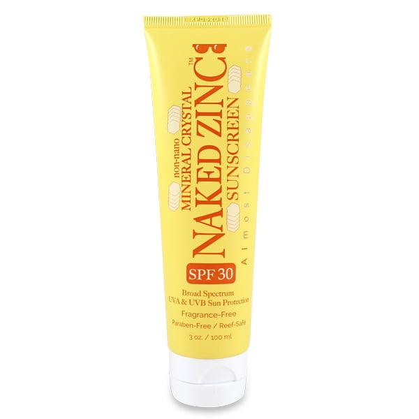 The Naked Bee NAKED Zinc SPF 30 Sunscreen 3oz tube
