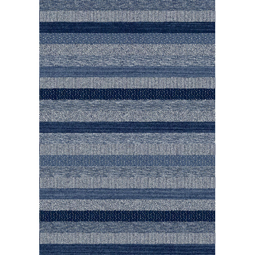 Crescent Drive Rug Company Infinity Blue Area Rug