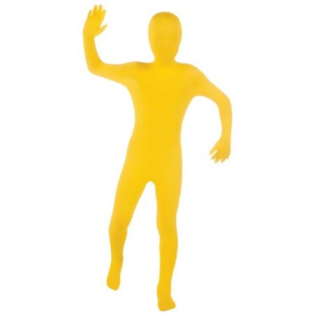 Yellow Skin Suit Child Halloween Costume](Man With The Yellow Hat Costume Toddler)