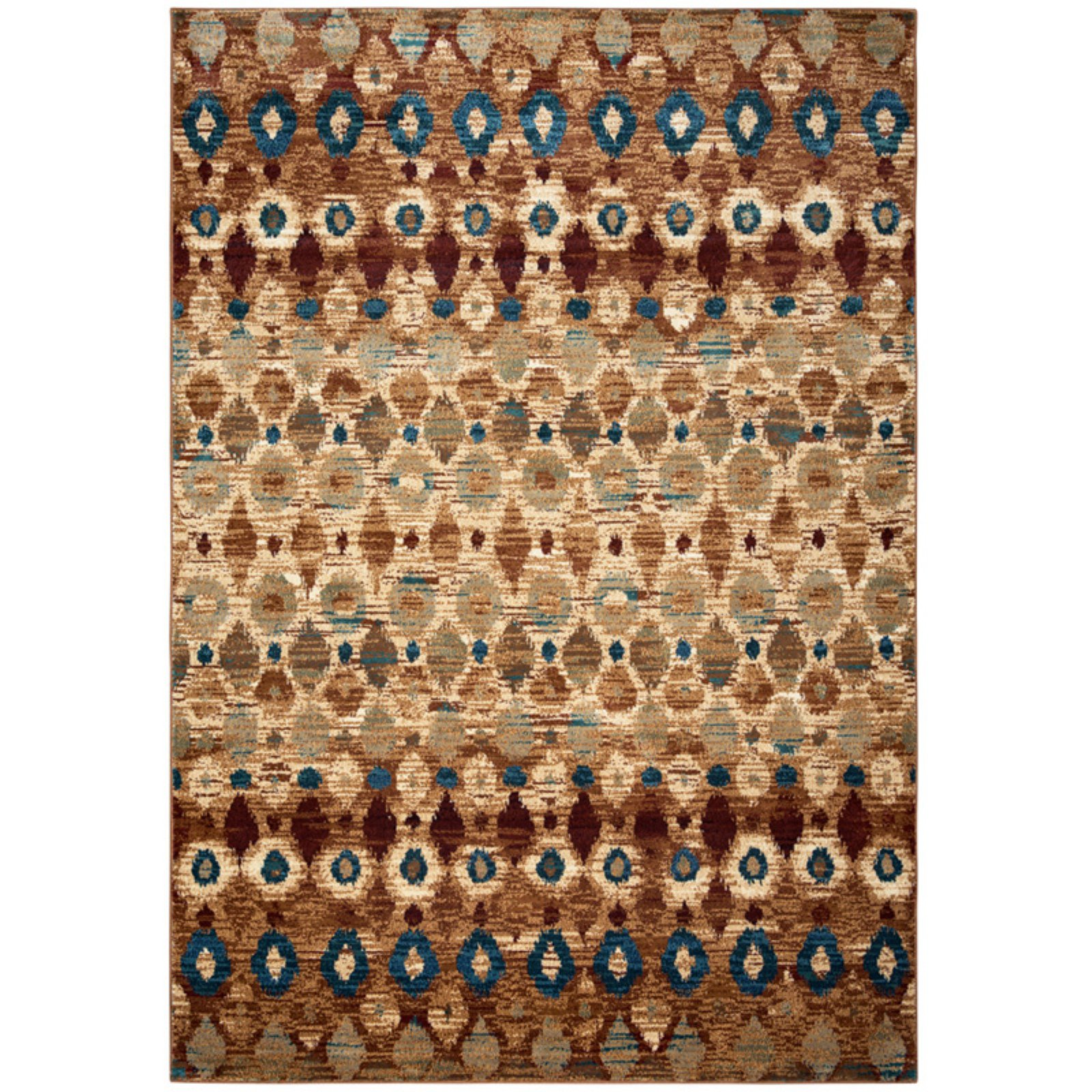 "Rizzy Home Tan/Camel/Brown Rug In Polypropylene 9'2"" x 12'6"""