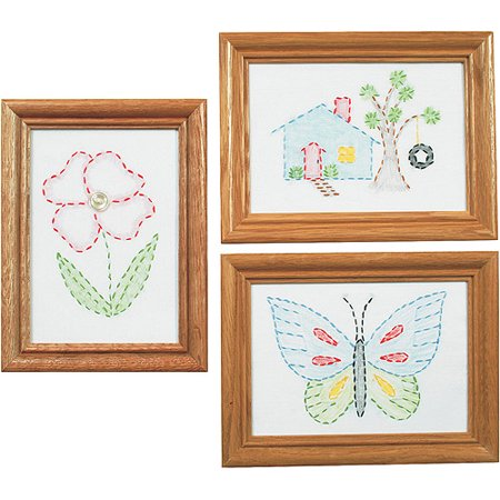 Beginner Embroidery (Stamped Embroidery Kit Beginner Samplers, 6