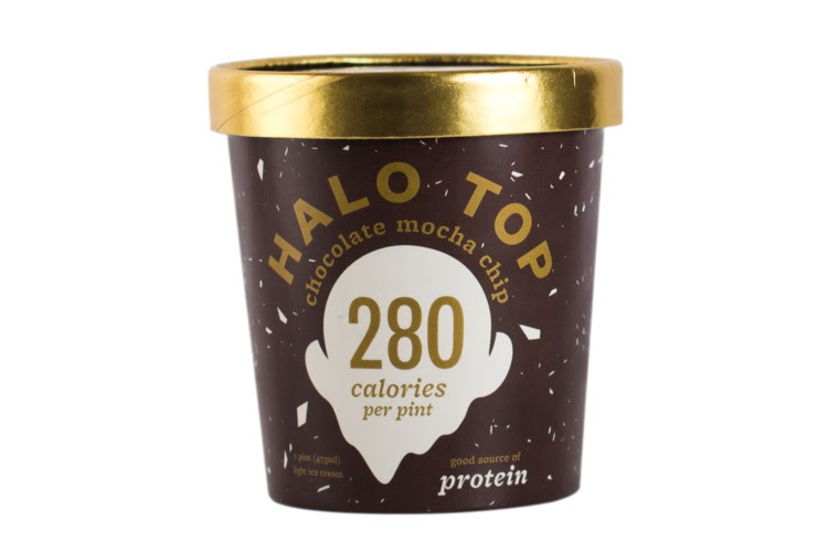 Halo Top Creamery Ice Cream, Multiple Flavors Available, Case of 8 Pints by Halo Top Creamery